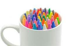 Pencil art. Try to make the best of now Royalty Free Stock Image