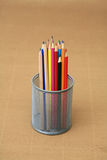 Pencil background Stock Photos