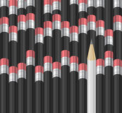 Pencil background Stock Photo