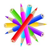 Pencil blog icon Web illustration Royalty Free Stock Photos