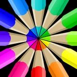 Pencil blog icon Web illustration Stock Image