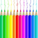 Pencil blog icon Web illustration Royalty Free Stock Image