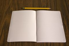 Pencil and book Royalty Free Stock Photography