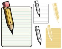 Pencil Border Stock Photos