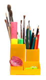 Pencil-box Royalty Free Stock Images