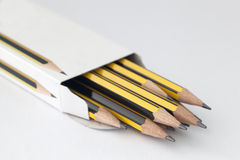 Pencil in a box Royalty Free Stock Photo
