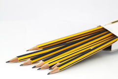 Pencil in a box Royalty Free Stock Photography