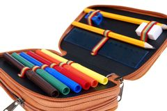 Pencil box Royalty Free Stock Photo