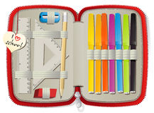 Pencil box Stock Images
