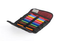 Pencil case Royalty Free Stock Photography