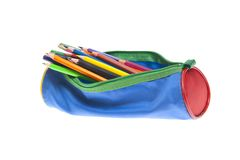 Pencil-case Stock Photo