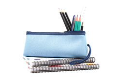 Pencil case Stock Photos