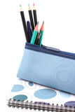 Pencil case Stock Images