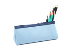 Pencil case Stock Photo