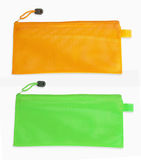 Pencil case isolated on white background Royalty Free Stock Photos