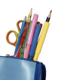 Pencil case school education Royalty Free Stock Photography