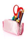 Pencil case Stock Photo