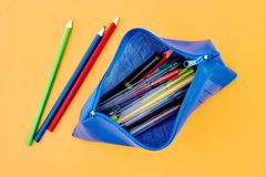 Pencil Case Stock Photography
