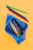 Pencil Case Royalty Free Stock Photos