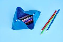 Pencil Case Royalty Free Stock Photos