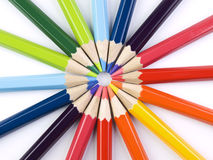 Pencil circle Royalty Free Stock Photos