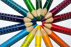 Pencil circle Stock Photos