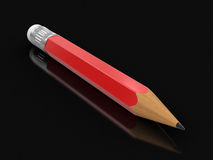 Pencil (clipping path included) Stock Photos