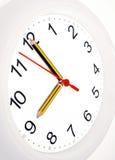 Pencil clock Royalty Free Stock Photos