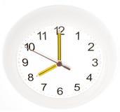 Pencil clock Royalty Free Stock Photography