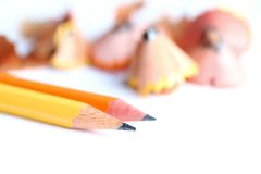 Pencil Close Up Royalty Free Stock Photography