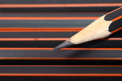 Pencil close up Royalty Free Stock Images