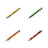 Pencil collection Stock Images