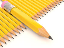 Pencil collection Royalty Free Stock Photo