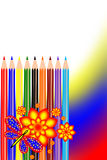 Pencil color Stock Photo