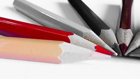 Pencil color on background Royalty Free Stock Image