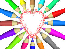 Pencil color Stock Photography