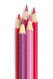 Pencil color fuchsia red pink. Background stock image