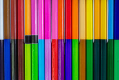 Pencil, colored background Stock Photography