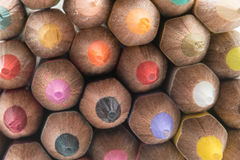 Pencil. Colored pencils background close up Stock Photography