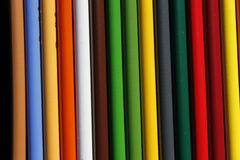 Pencil. Colored pencils of many colors stock photos