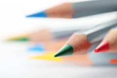 Pencil. Colored pencils photographed on a white background is Stock Photos