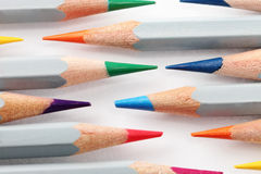 Pencil. Colored pencils photographed with white background in studio environment Stock Photo
