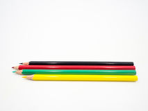 Pencil. Colored pencil on white background Stock Photo