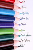 Pencil Colors Royalty Free Stock Photography