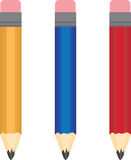 Pencil Colors Stock Photo