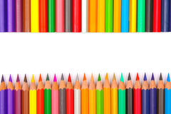 Pencil colors Stock Image