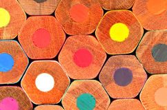 Stationery viewing,stationery picture, stationery image,Pencil,colour,honeycomb,concept. Colored wooden pencils grouped Honeycomb Royalty Free Stock Photo