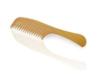 Pencil comb Royalty Free Stock Photo