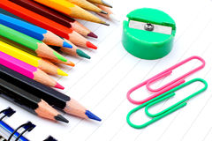 Pencil crayons Royalty Free Stock Photo