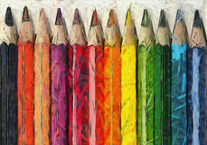 School Art Pencil Crayons Royalty Free Stock Photography